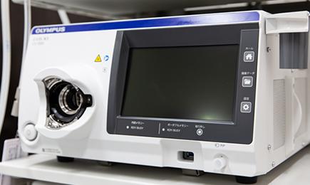 最新の内視鏡システム オリンパスEVIS X1を導入